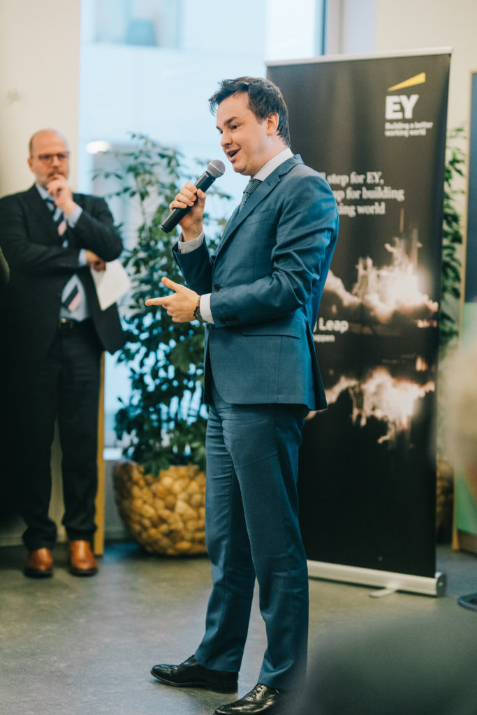 Innovative ideas for EY Belgium were pitched during The Big Pitch, an internal innovation campaign powered by The Factory